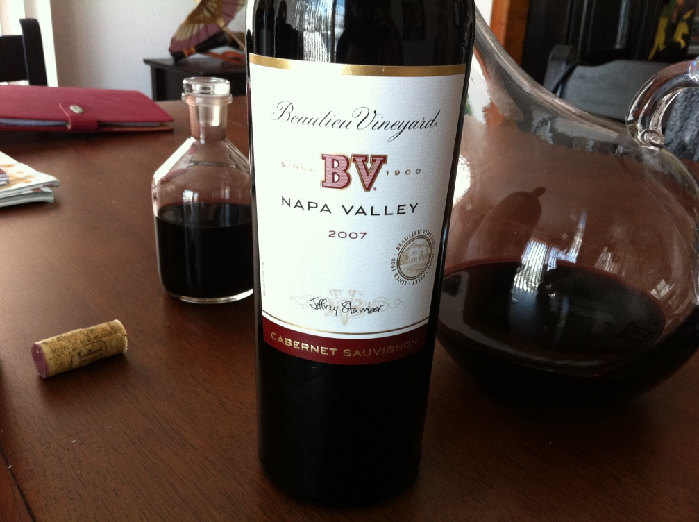 2007 Napa Cabs are holding on steadily.  Here is a great example