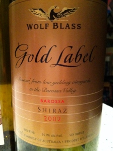 Wolf Blass Gold Label