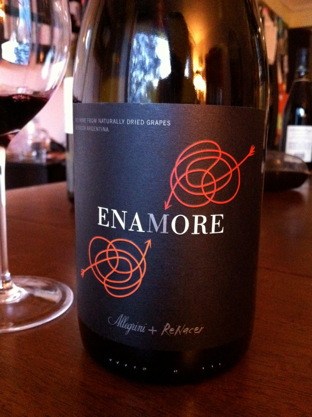 Amarone from South America? Not quite, but quite good!